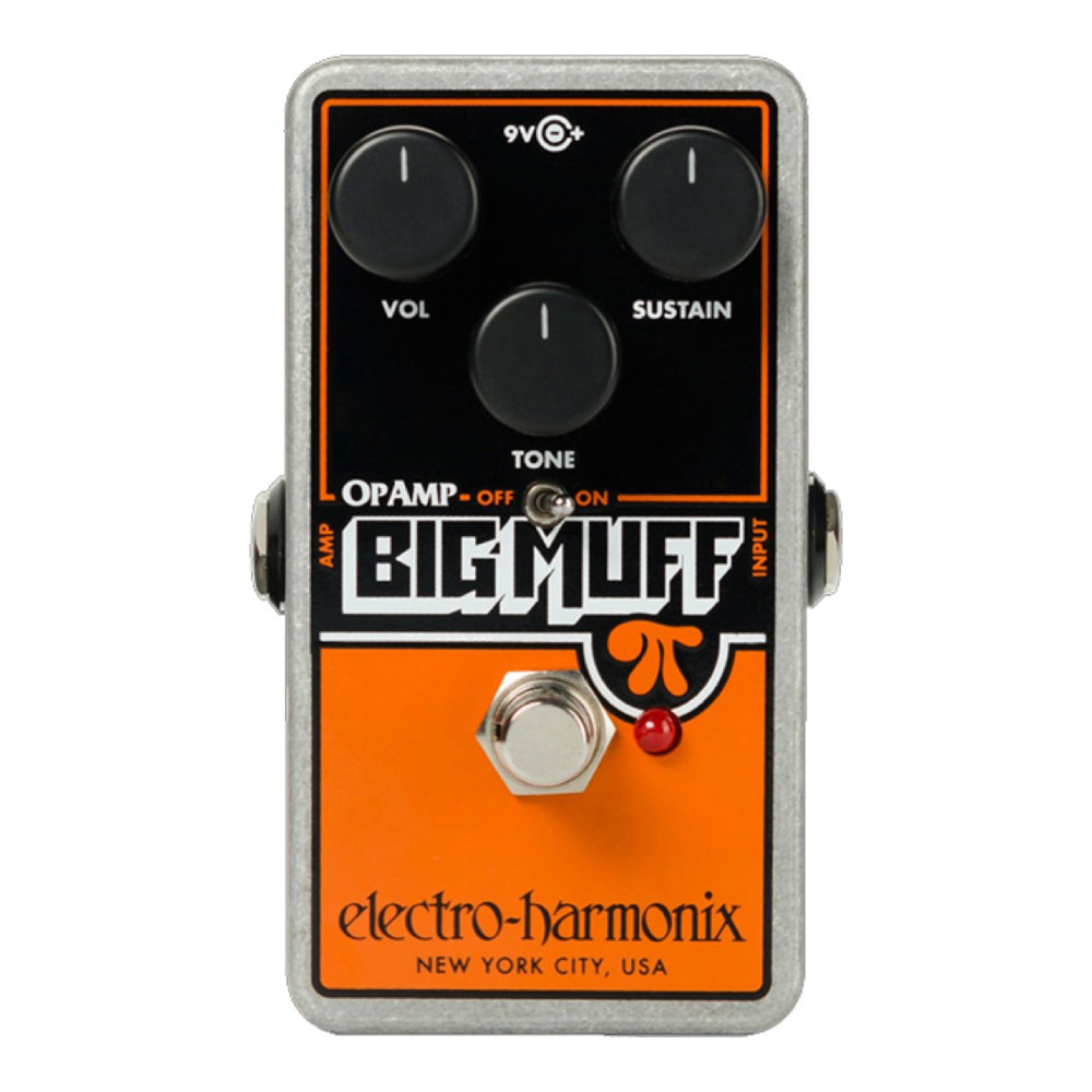 ELECTRO-HARMONIX OP-AMP Big Muff Distortion Sustainer ディストーション