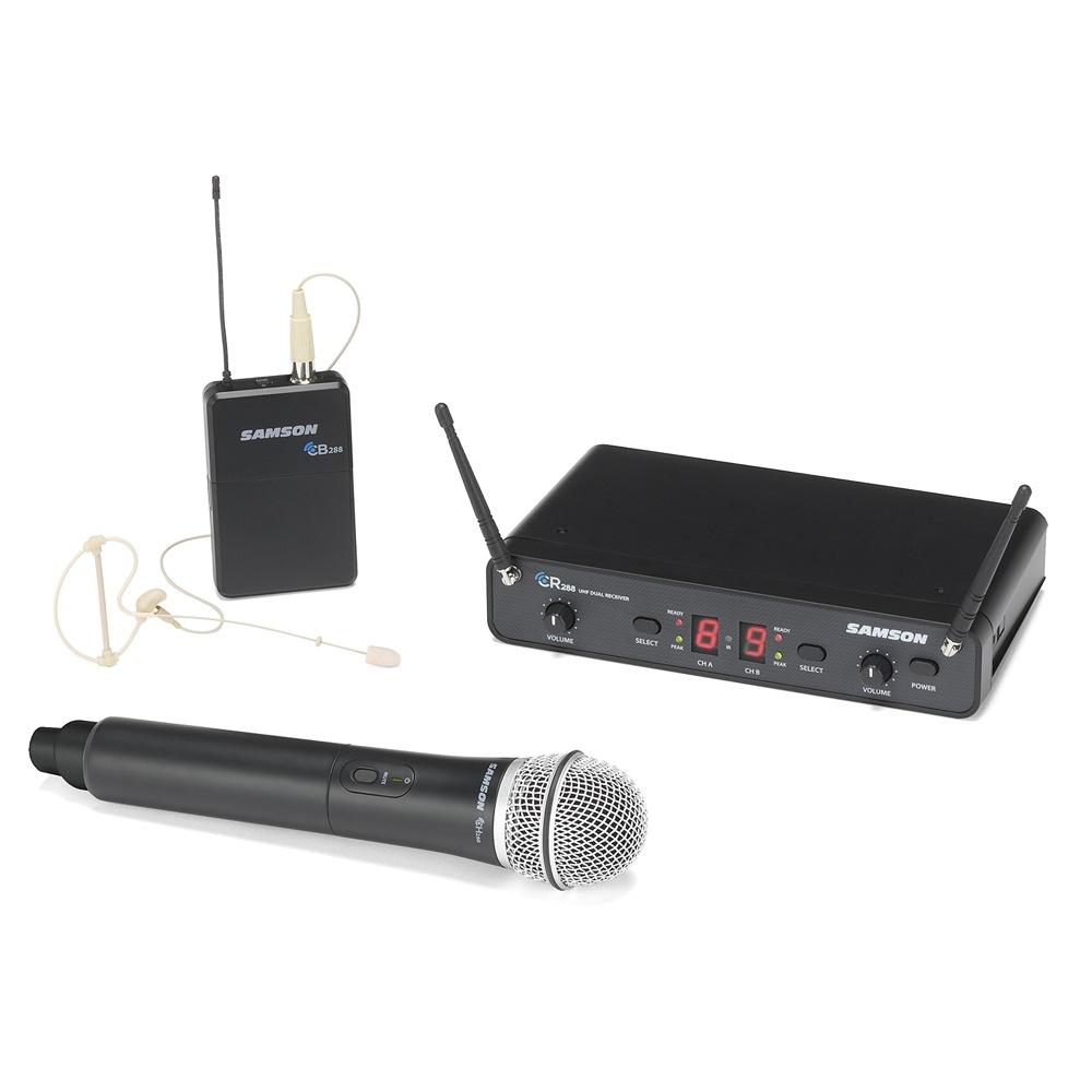 SAMSON Concert 288 Pro Combo ESWC288PROC-B ワイヤレスシステム