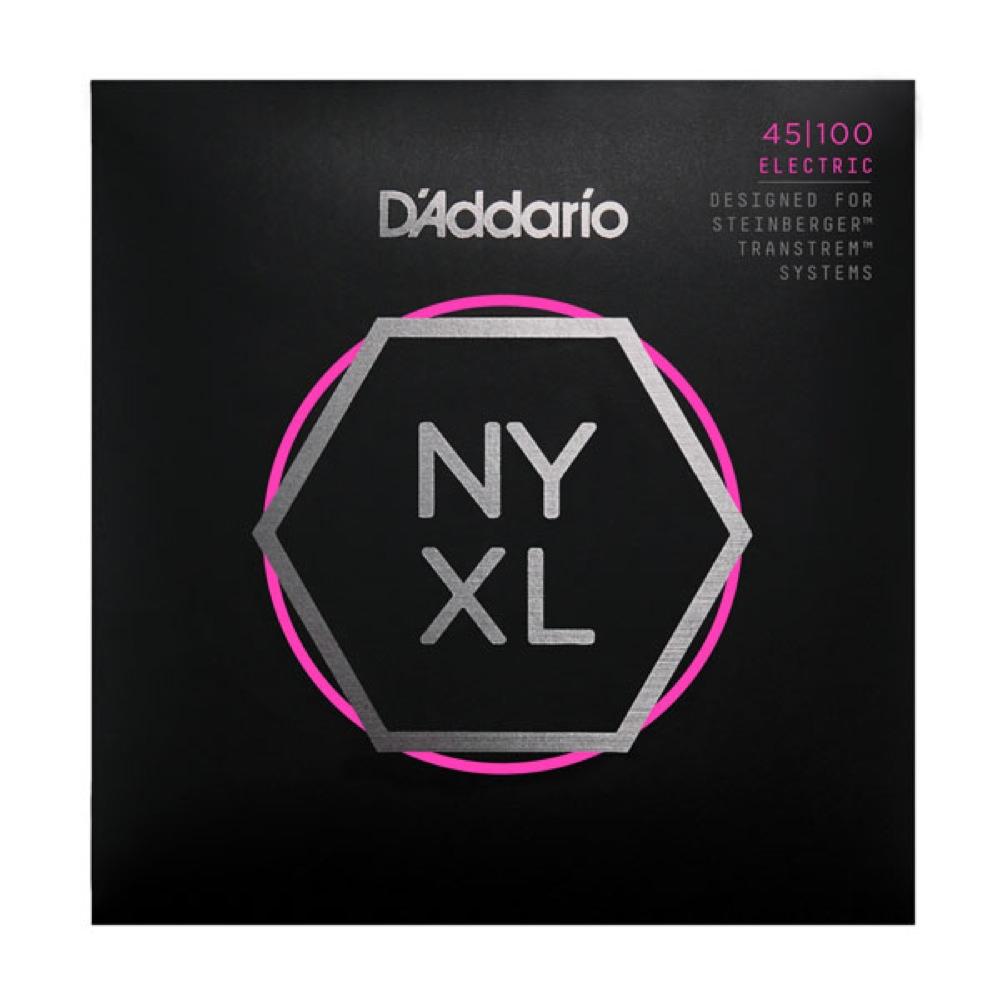 D'Addario NYXLS45100 ダブルボールエンド エレキベース弦
