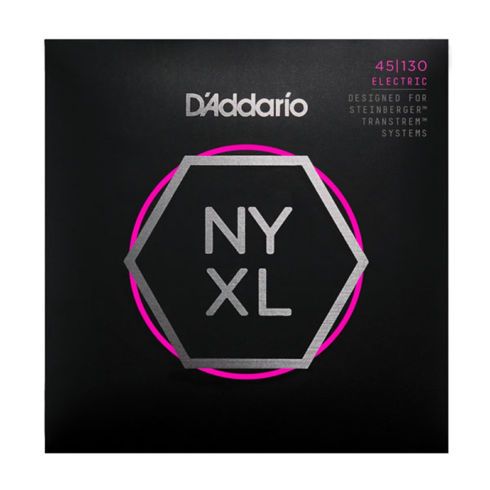 D'Addario NYXLS45130 ダブルボールエンド エレキベース弦 5弦ベース用