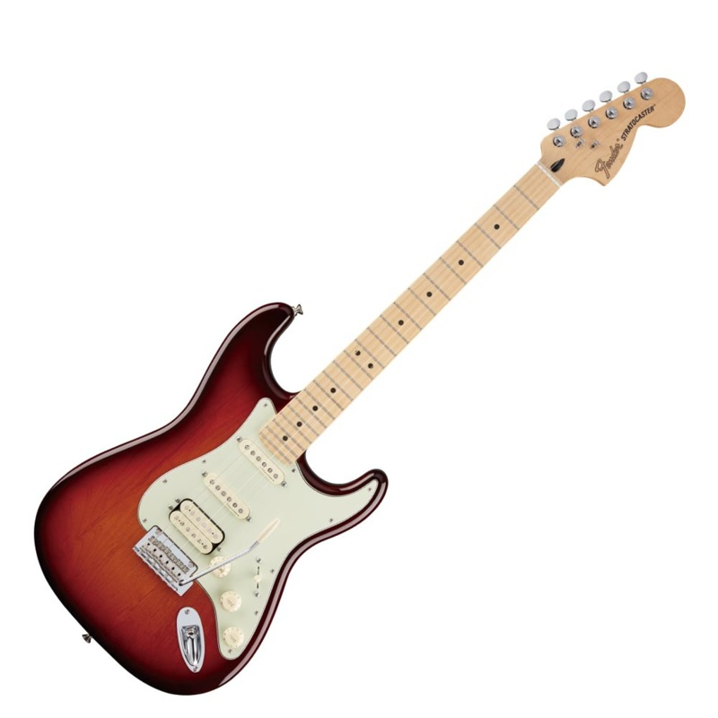 Fender Deluxe Stratocaster HSS MN TBS エレキギター