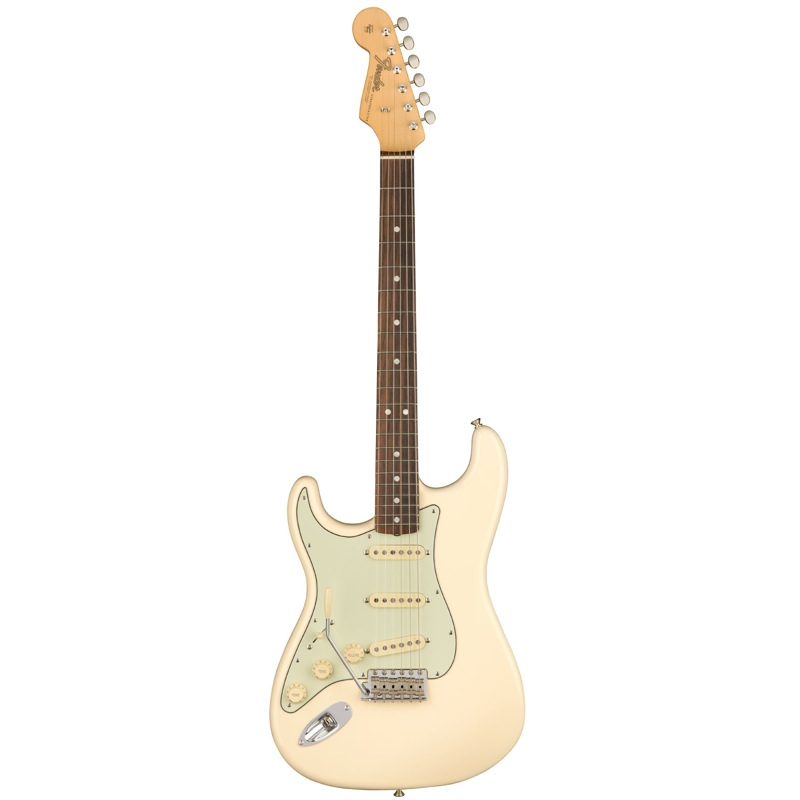 Fender American Original '60s Stratocaster Left-Hand RW Olympic White エレキギター