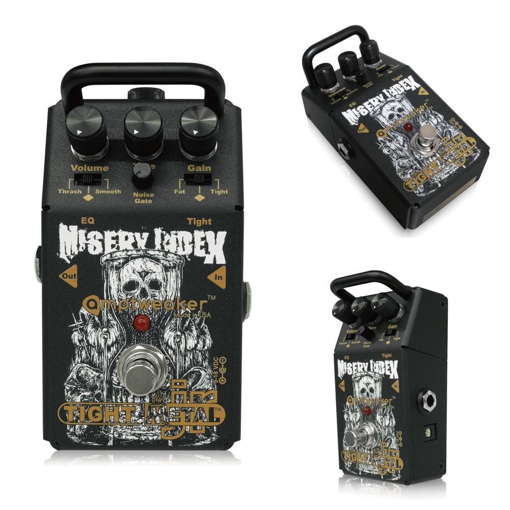 Amptweaker Misery Index TightMetal JR ギターエフェクター
