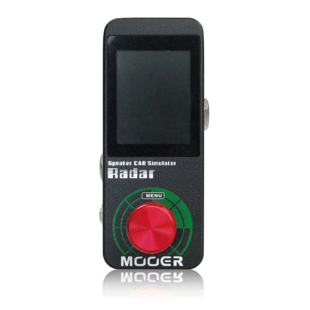 Mooer Radar スピーカーシミュレーター エフェクター