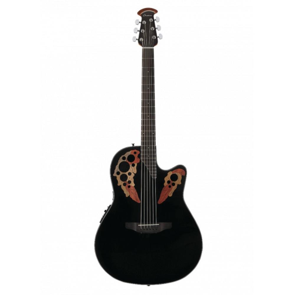 OVATION Celebrity Elite CE44-5 Black エレクトリックアコースティックギター