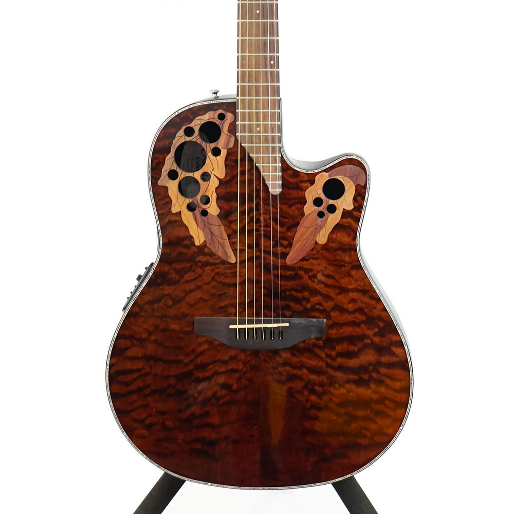 OVATION Celebrity Elite Plus CE44P TGE エレクトリックアコースティックギター