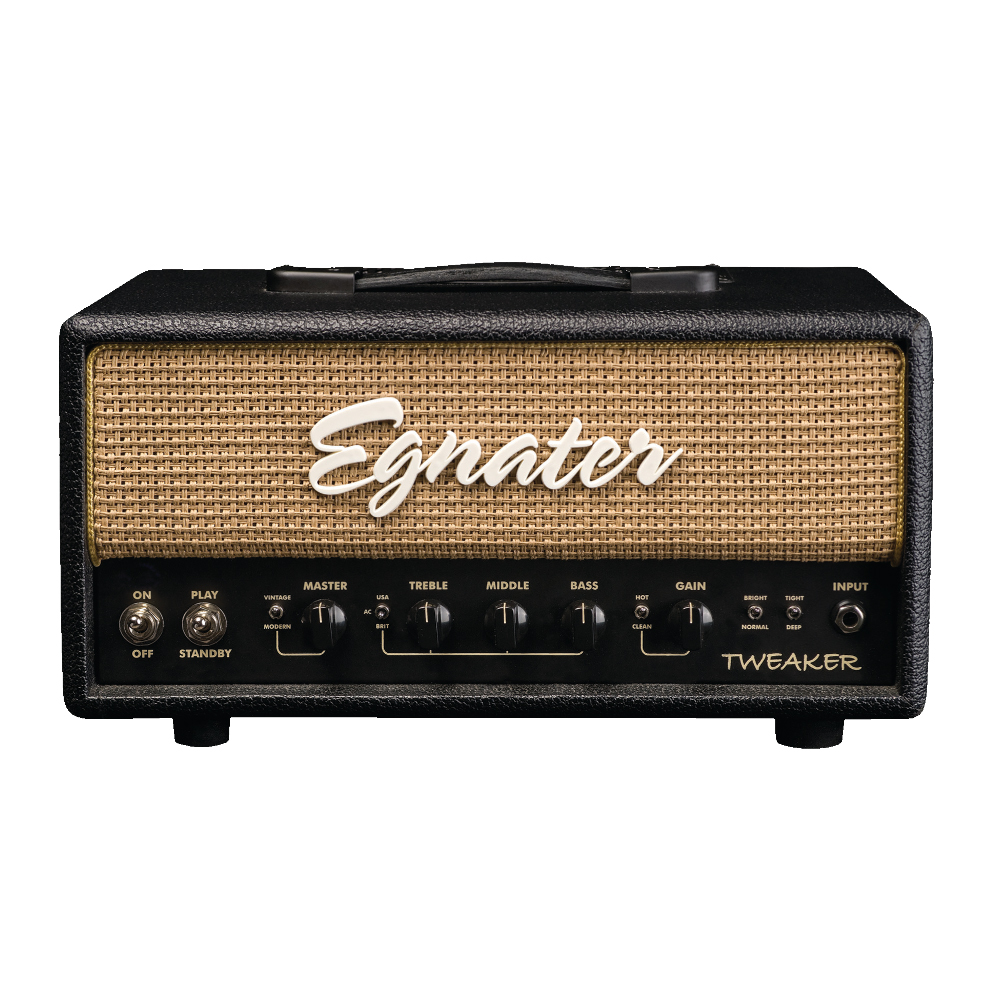 Egnater TWEAKER 15 Watt All Tube Amplifier ヘッドアンプ