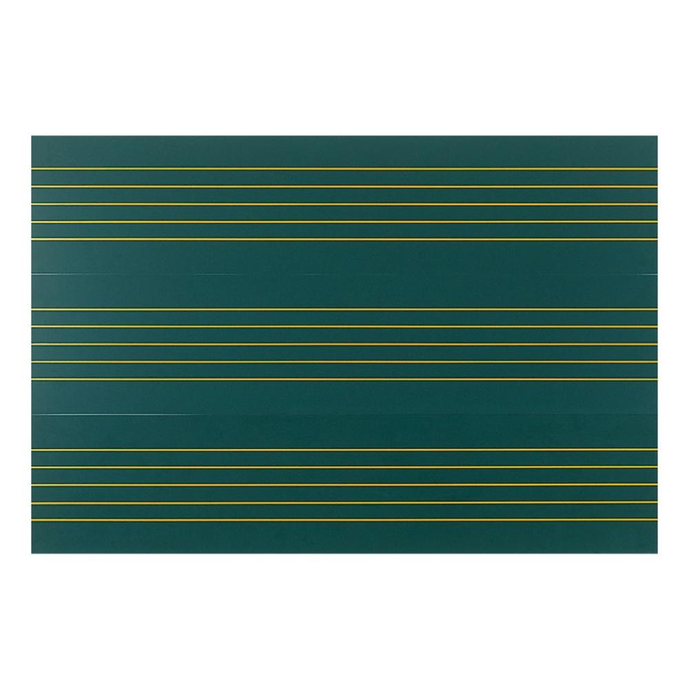 全音 ZMM-66 音楽五線譜黒板マグネットシート帯 8枚組 黒板表示用教材