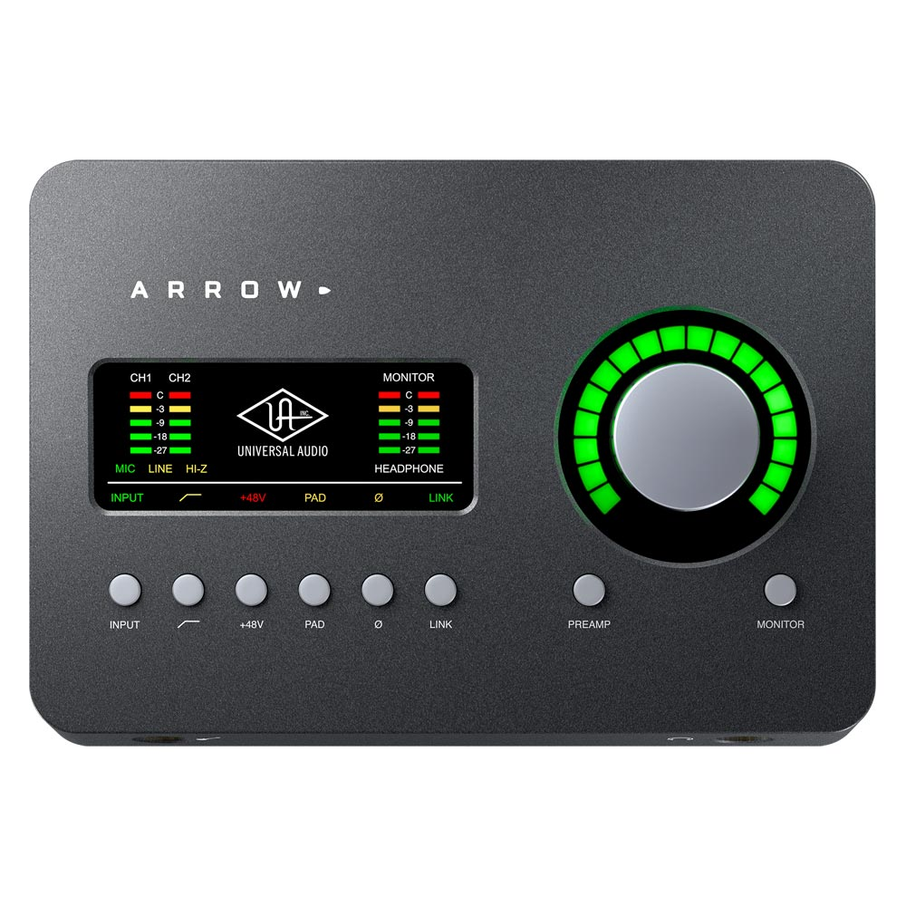 Universal Audio Arrow Thunderbolt 3 オーディオインターフェイス