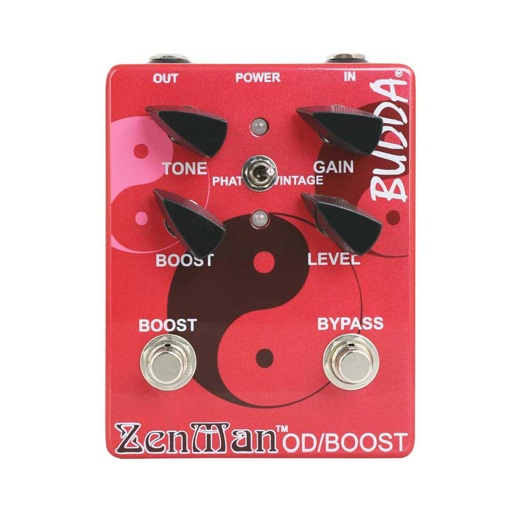 BUDDA Zenman Ovedrive 正規輸入品 オーバードライブ エフェクター