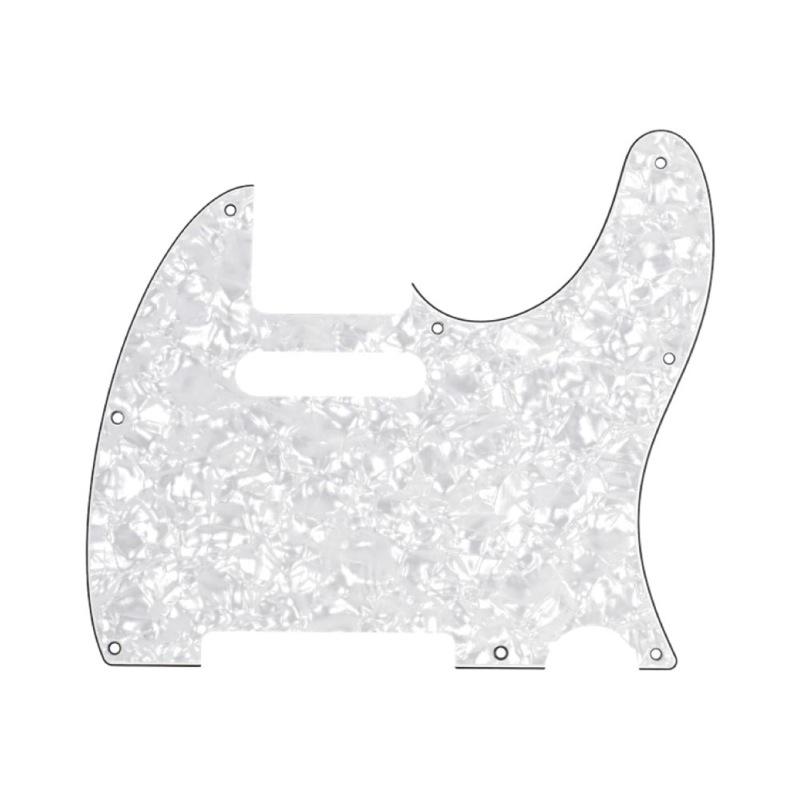 Fender Multi-Ply Telecaster 8-Hole 4-Ply White Pearl ピックガード