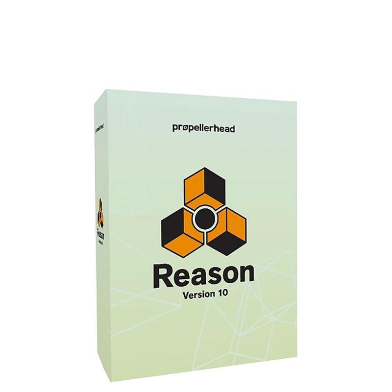 propellerhead Reason 10 Upgrade プロペラヘッド リーズンアップグレード版 Reason9以前のバージョンからのアップグレード