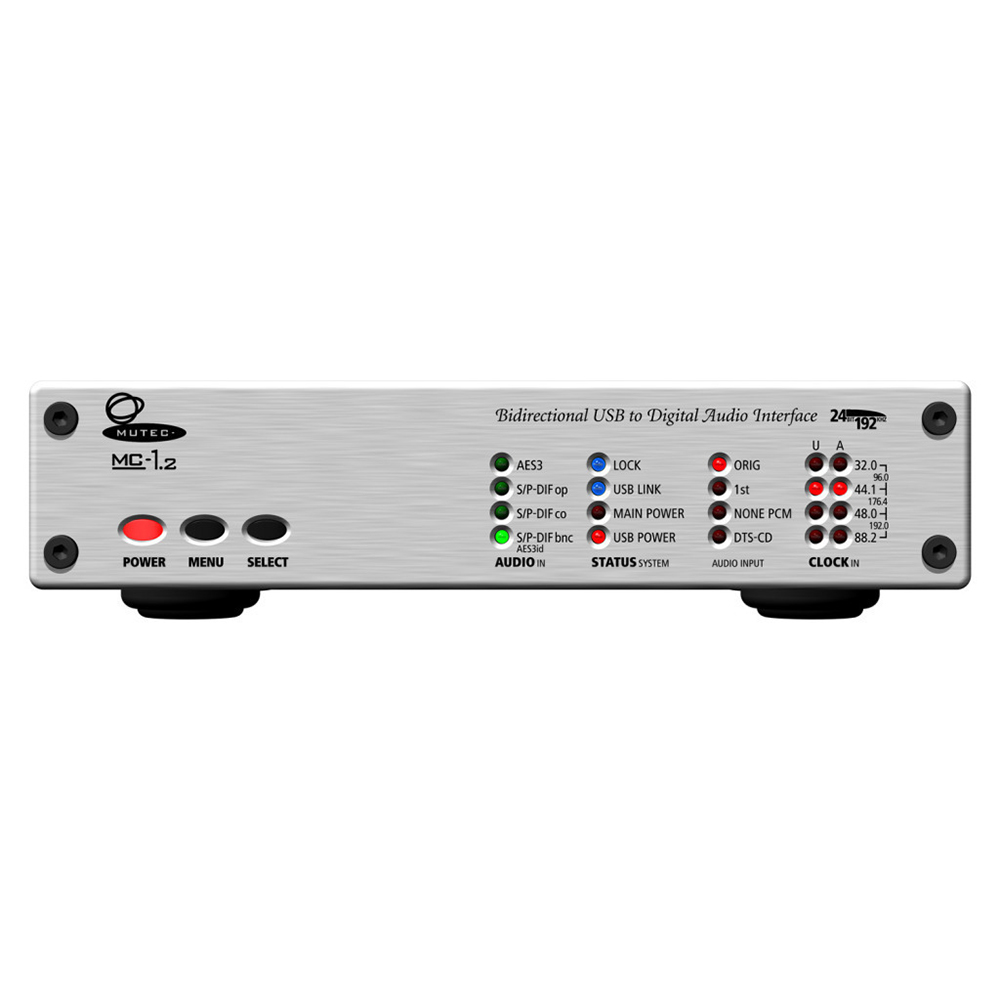 MUTEC MC-1.2 Aluminum USB デジタルオーディオ・フォーマットコンバーター