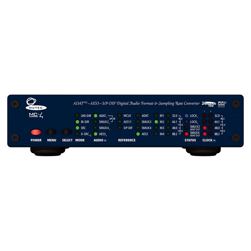 MUTEC MC-4 マルチチャンネル・フォーマット/サンプリングレート・コンバーター