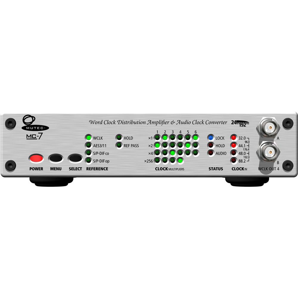 MUTEC MC-7 ワードクロック・ディストリビューター/コンバーター