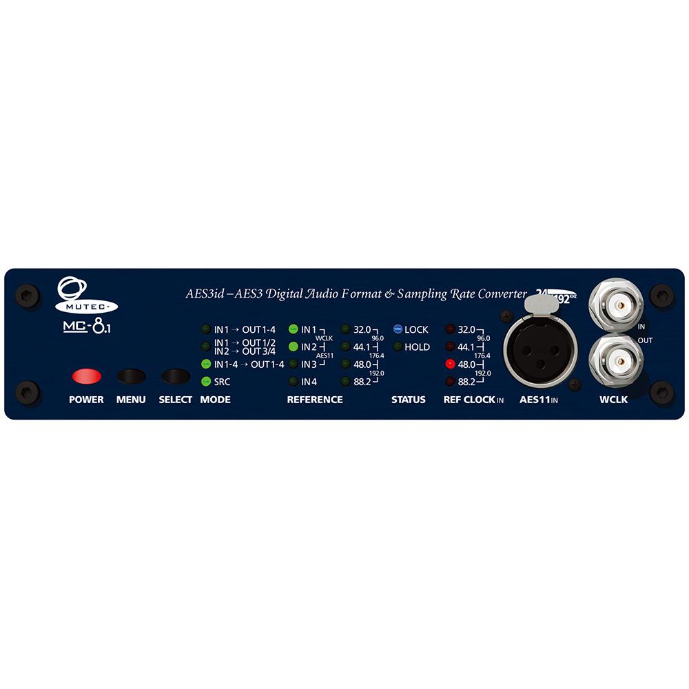 MUTEC MC-8.1 フォーマット/サンプリングレート・コンバーター