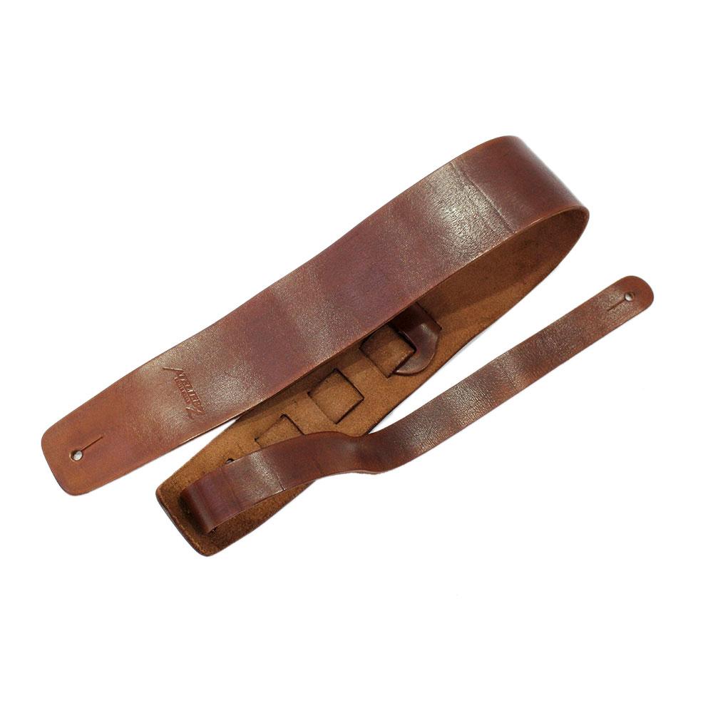 ATELIER Z ZHS-CLC00 XL BROWN Leather Strap ギター/ベース用ストラップ