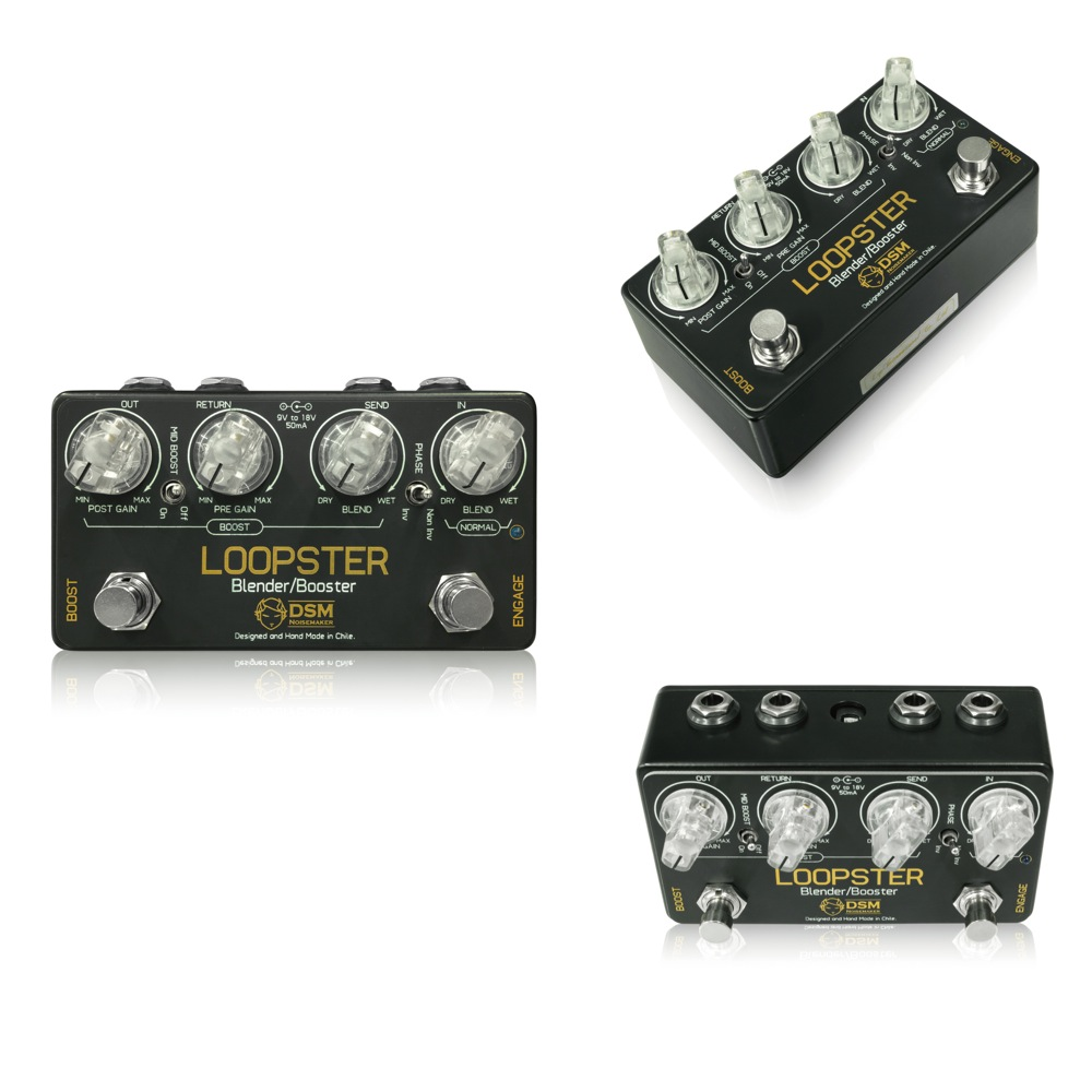 DSM Noisemaker Loopster ブレンダー ギターエフェクター