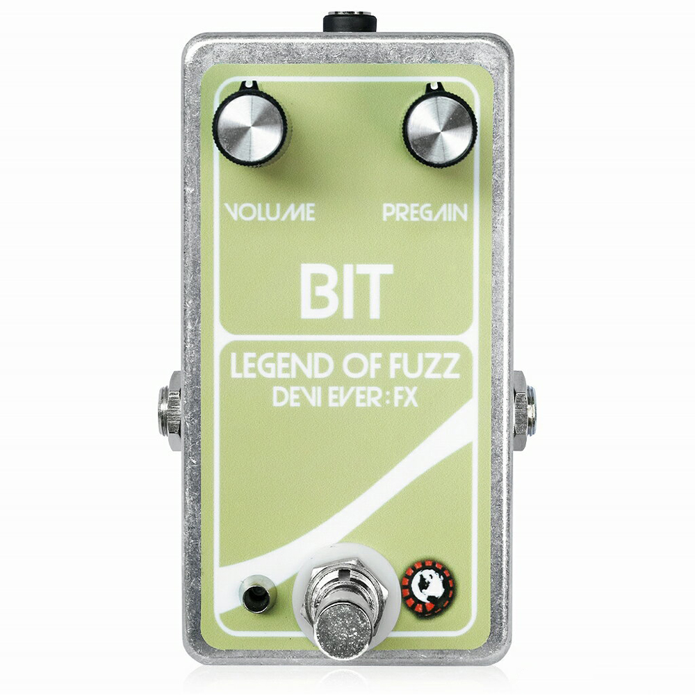 Devi Ever Bit:Legend of Fuzz Gold Foil ファズ ギターエフェクター