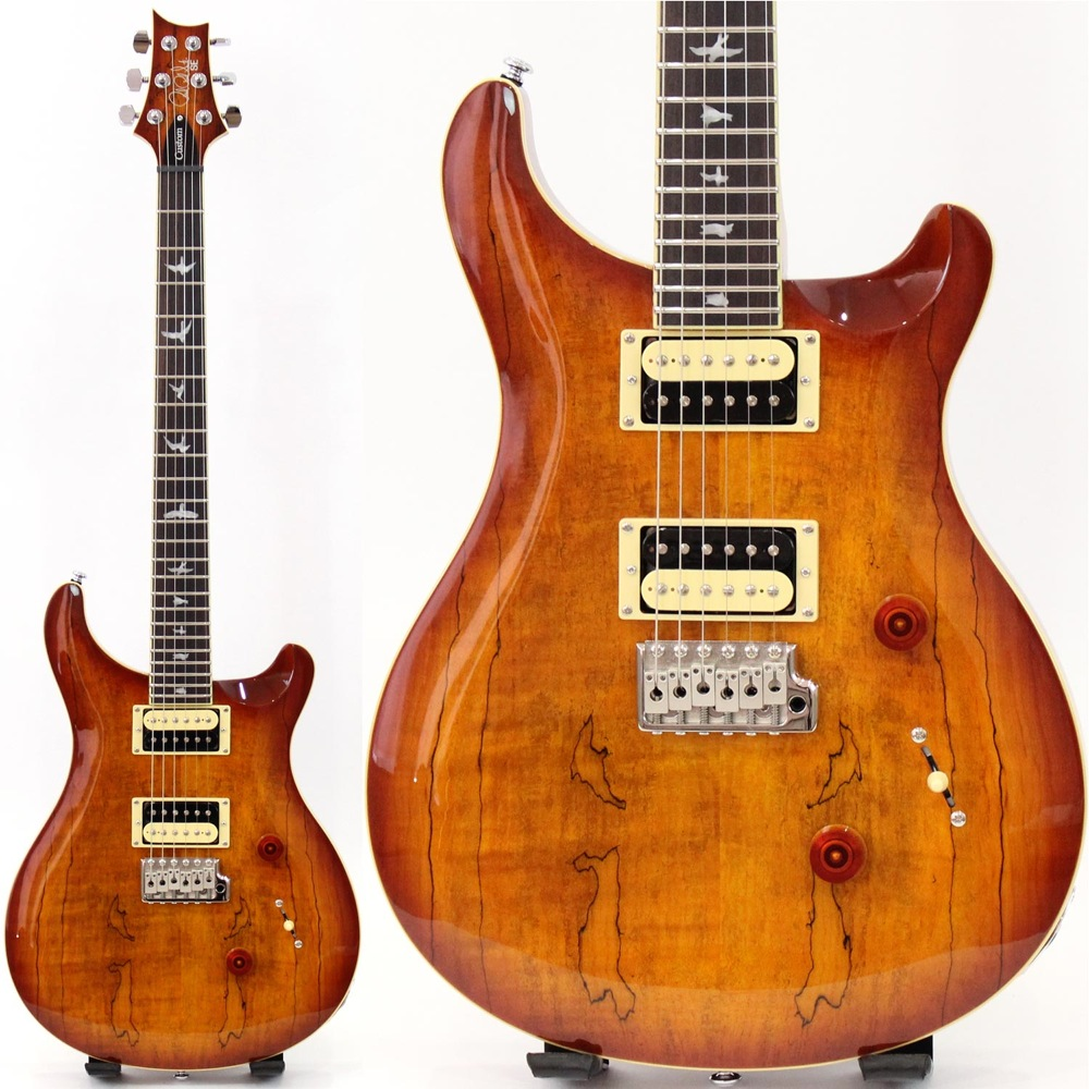 PRS SE Custom 24 Spalted Maple VS Vintage Sunburst エレキギター