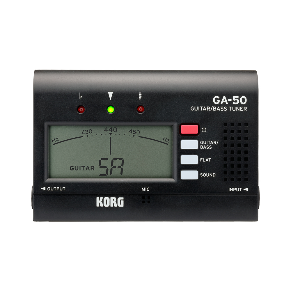 KORG GA-50 BK ギターチューナー