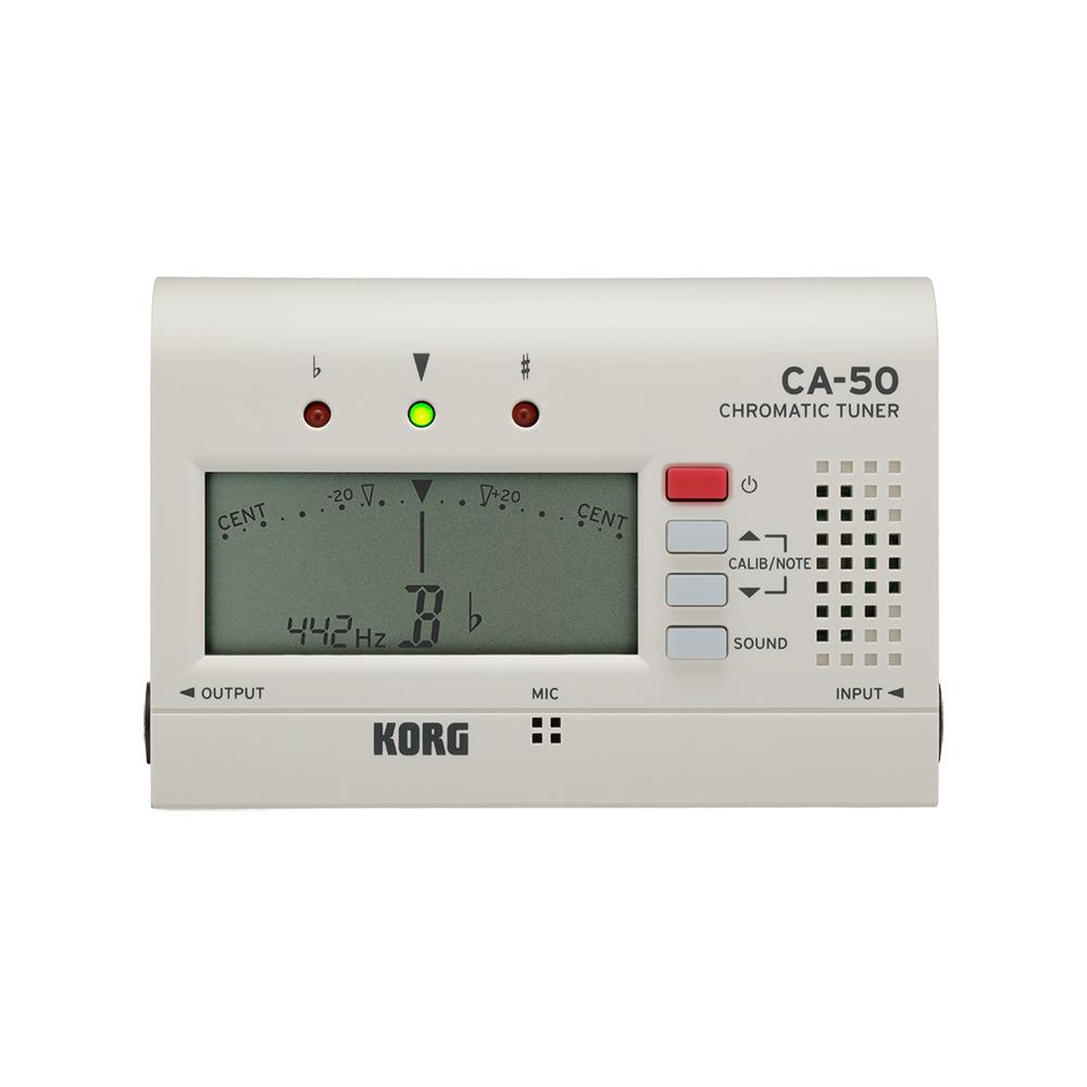 KORG CA-50 WH クロマチックチューナー