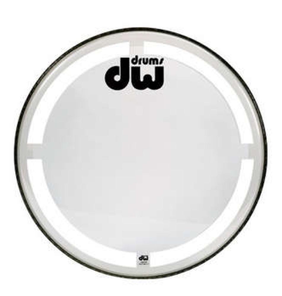 DW DW-DH-CC16K コーテッドクリア バスドラム バターヘッド 16インチ ドラムヘッド