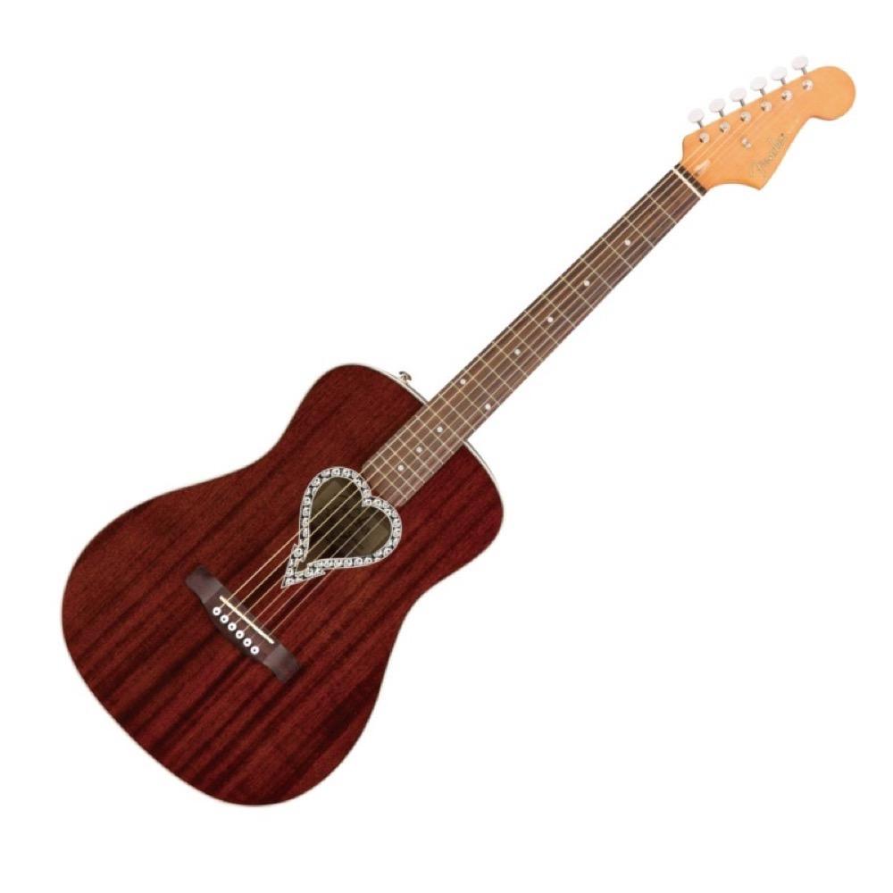 Fender Alkaline Trio Malibu アコースティックギター