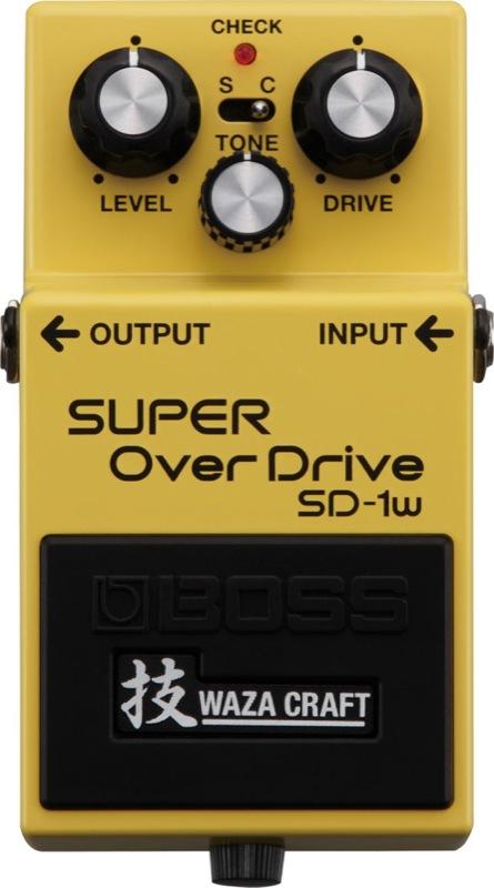 BOSS SD-1W (J) SUPER OVER DRIVE WAZA CRAFTシリーズ オーバードライブ