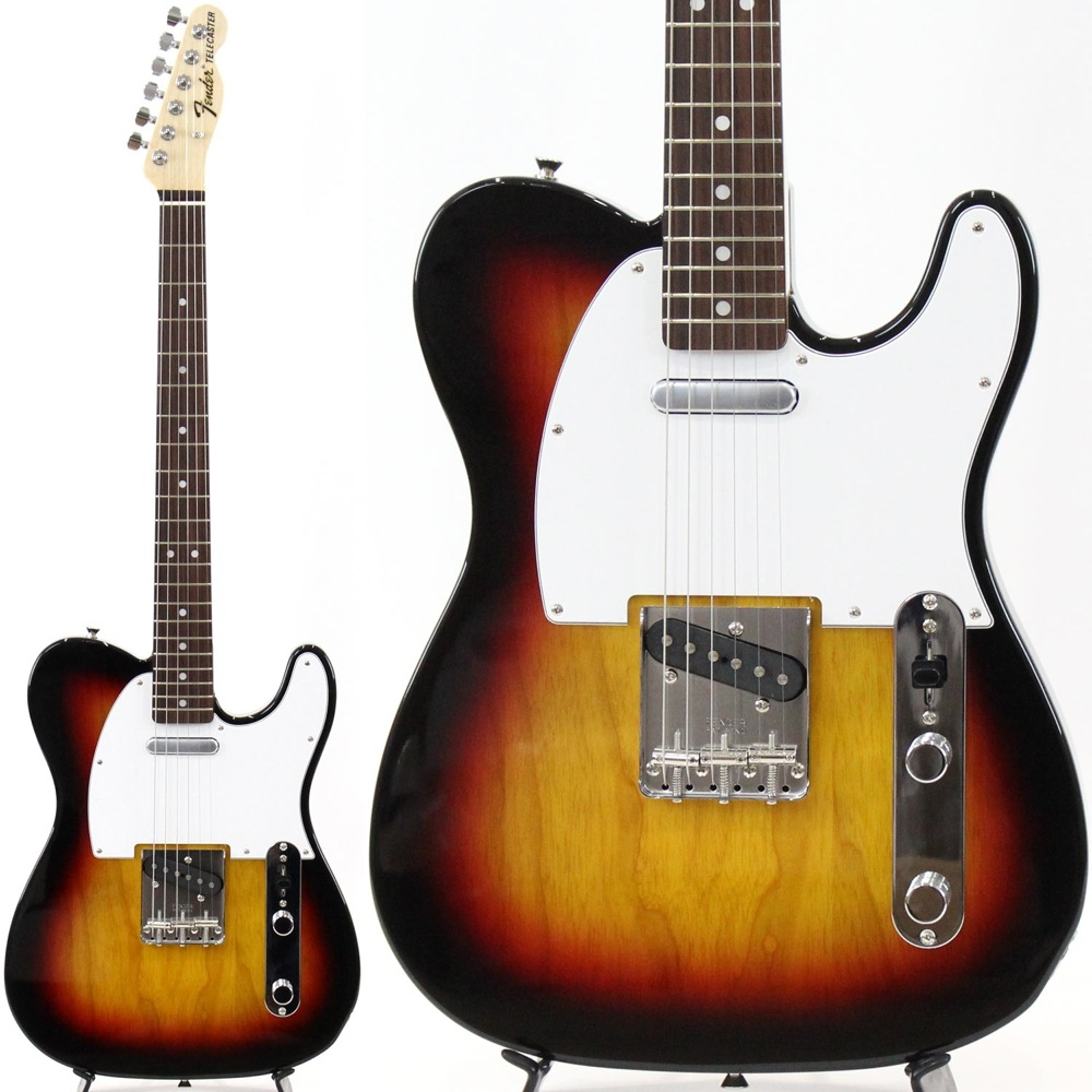 Fender Made in Japan Traditional 70s Telecaster Ash RW 3TSB エレキギター 【中古】