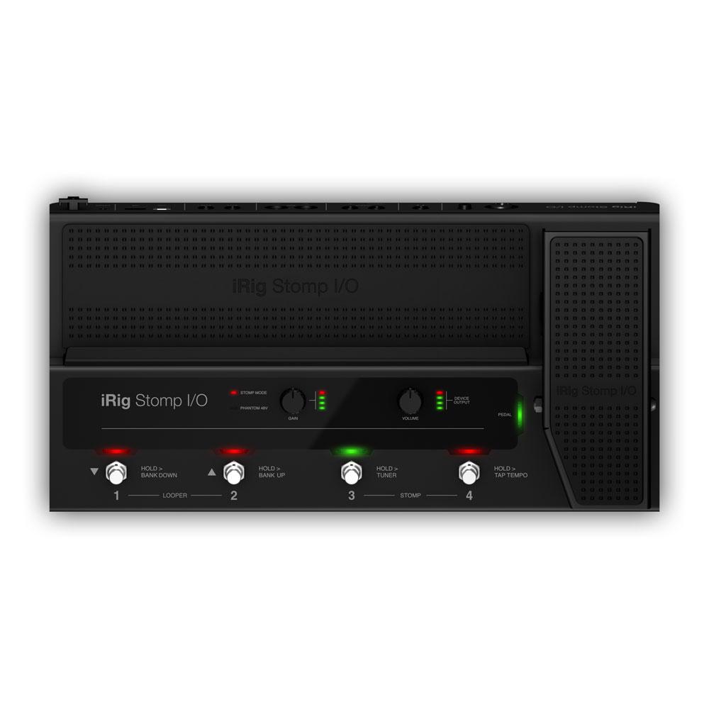 IK Multimedia iRig Stomp I/O ペダルボード・コントローラー オーディオインターフェイス