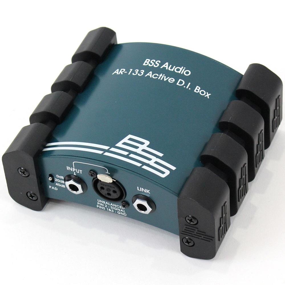 BSS AUDIO AR-133 ダイレクトボックス アクティブタイプ アウトレット