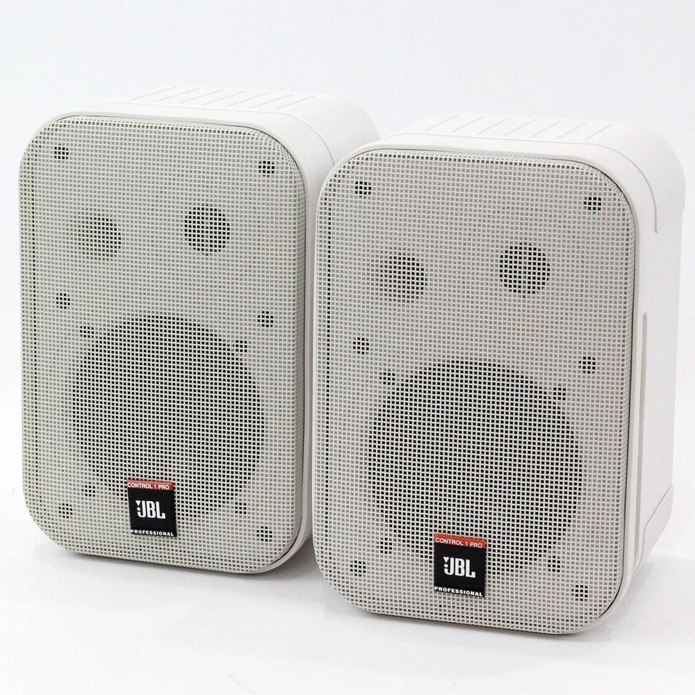 JBL PROFESSIONAL Control 1 PRO-WH アウトレット 2Way フルレンジ小型スピーカー ペア