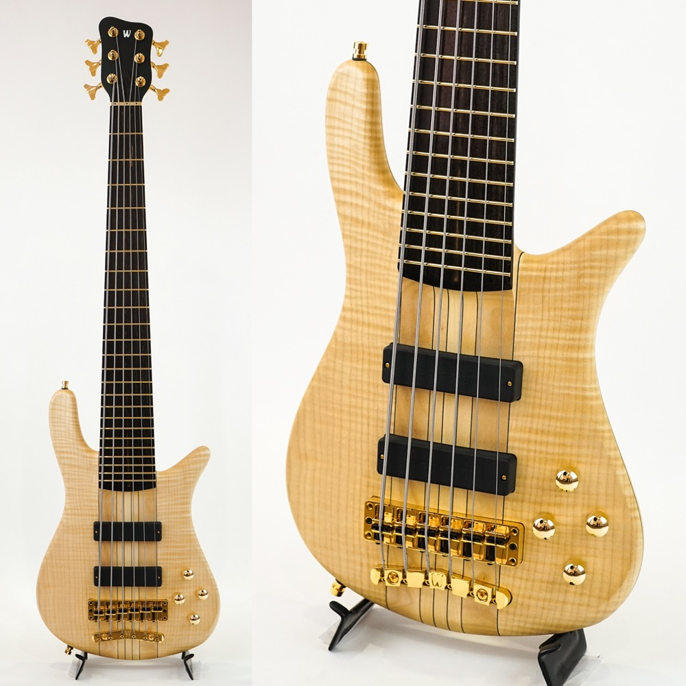 WARWICK CUSTOM SHOP Streamer Stage I KID Limited 6-string Natural Oil Finish 6弦エレキベース