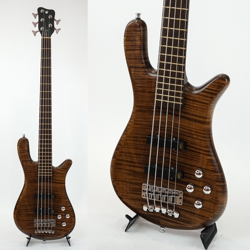 WARWICK CUSTOM SHOP Streamer LX 5-string W アウトレット OFC Antique Tobacco 5弦エレキベース