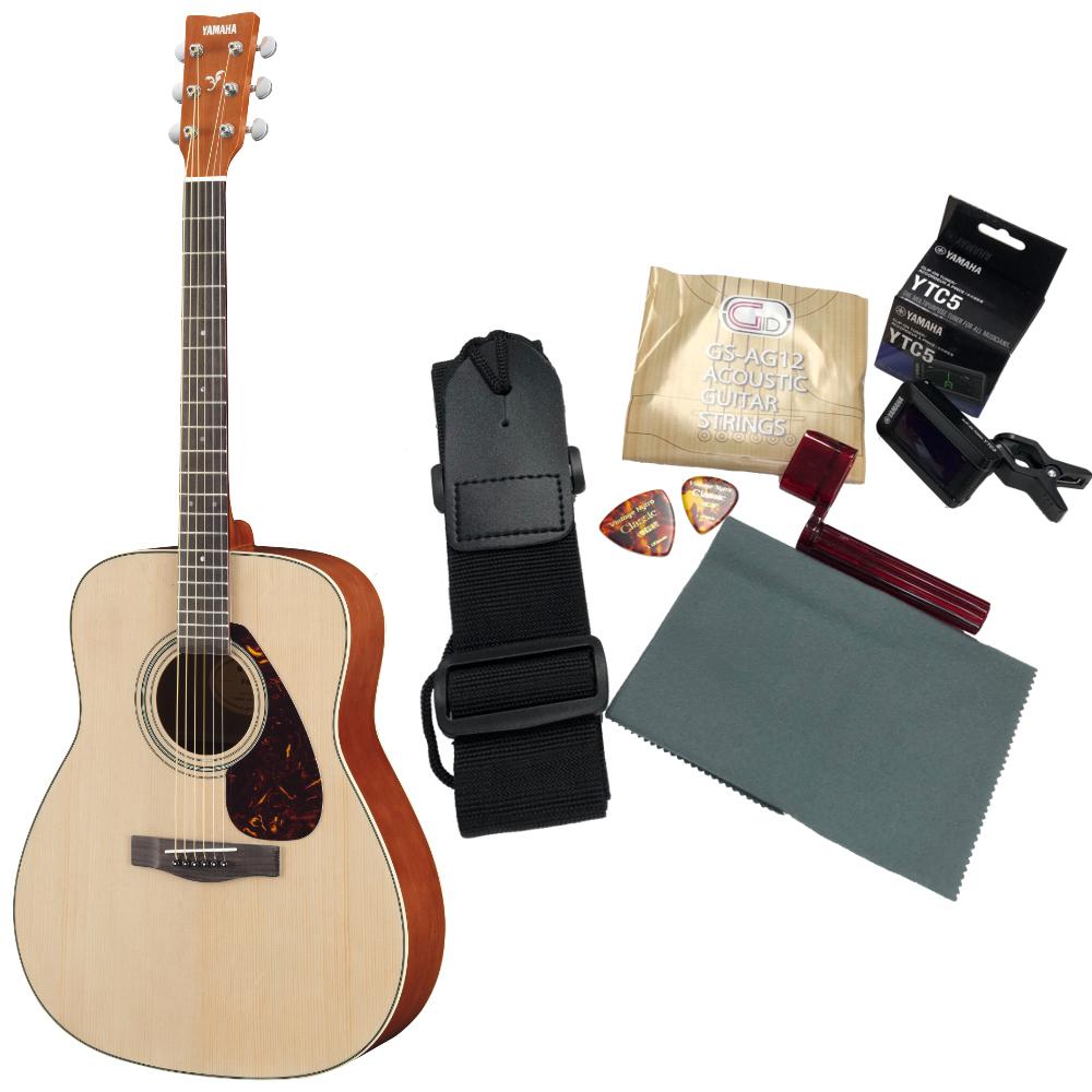 YAMAHA F620set アコースティックギター アクセサリーセット付き