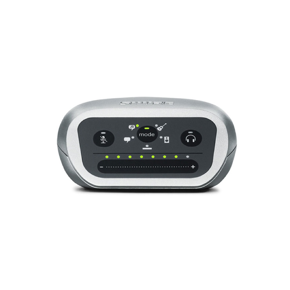 SHURE MVIA-LTG-A MOTIV デジタルオーディオインターフェース