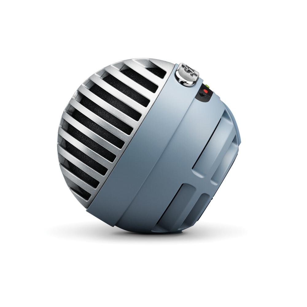SHURE MV5A-BL-LTG-A MOTIV デジタル コンデンサーマイク ブルー