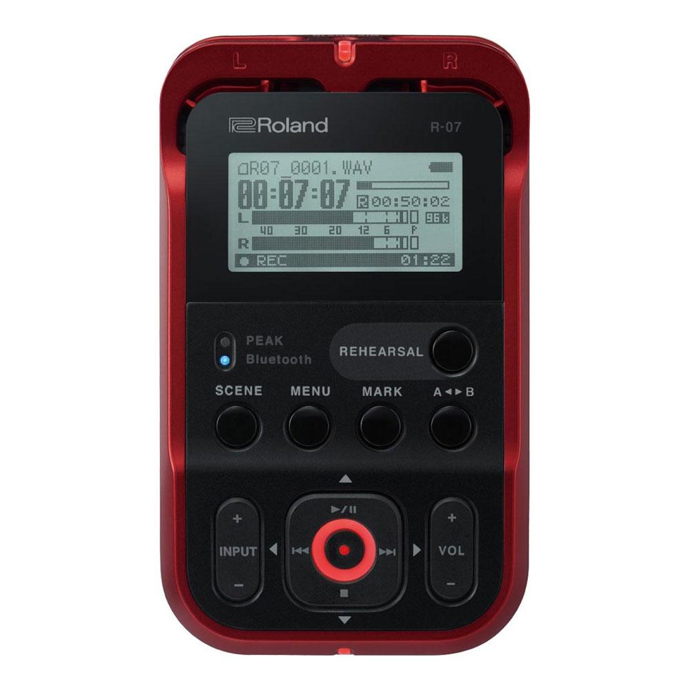 ROLAND R-07 RD High Resolution Audio Recorder オーディオレコーダー