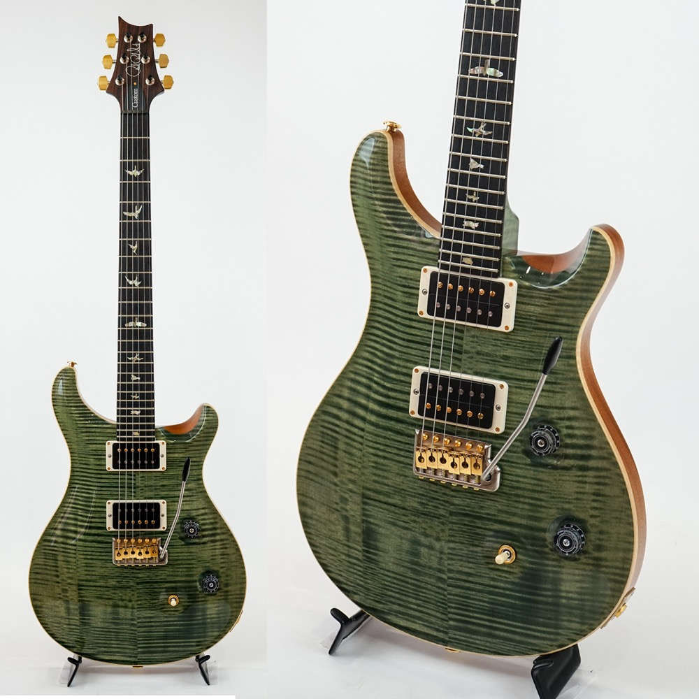 Paul Reed Smith(PRS) 2016 KID Limited Custom 24 10Top Maple Neck Tranpas Green エレキギター アウトレット