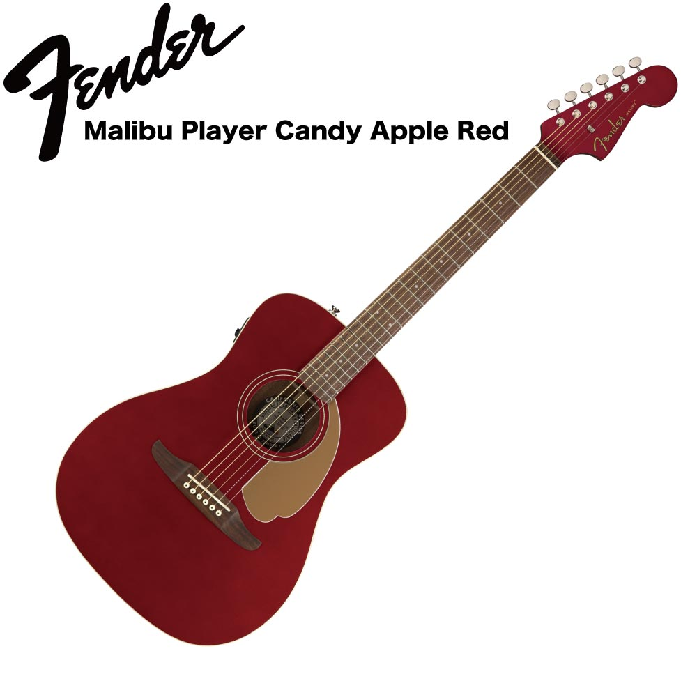 Fender Malibu Player CAR WN エレクトリックアコースティックギター