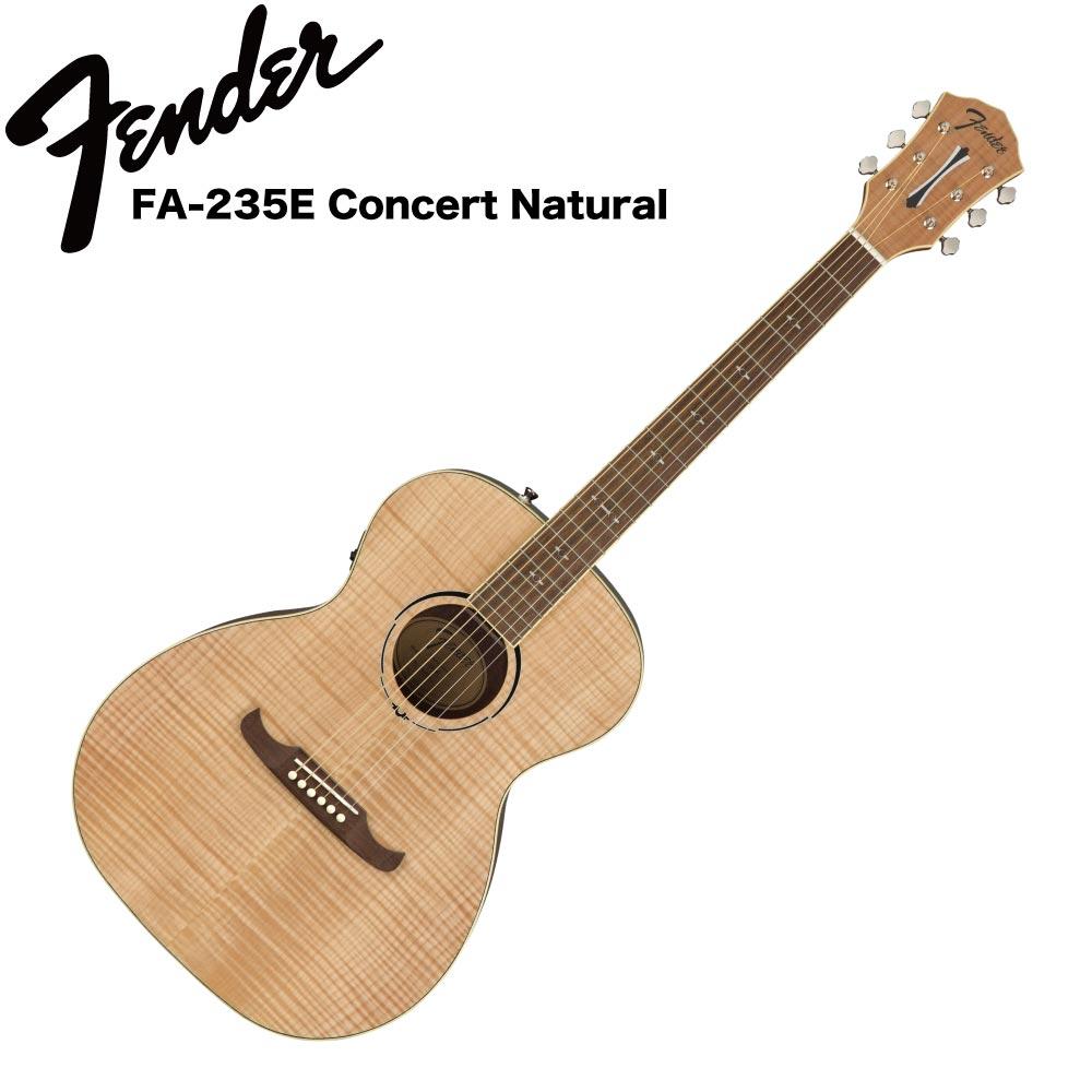 Fender FA-235E Concert Natural RW エレクトリックアコースティックギター