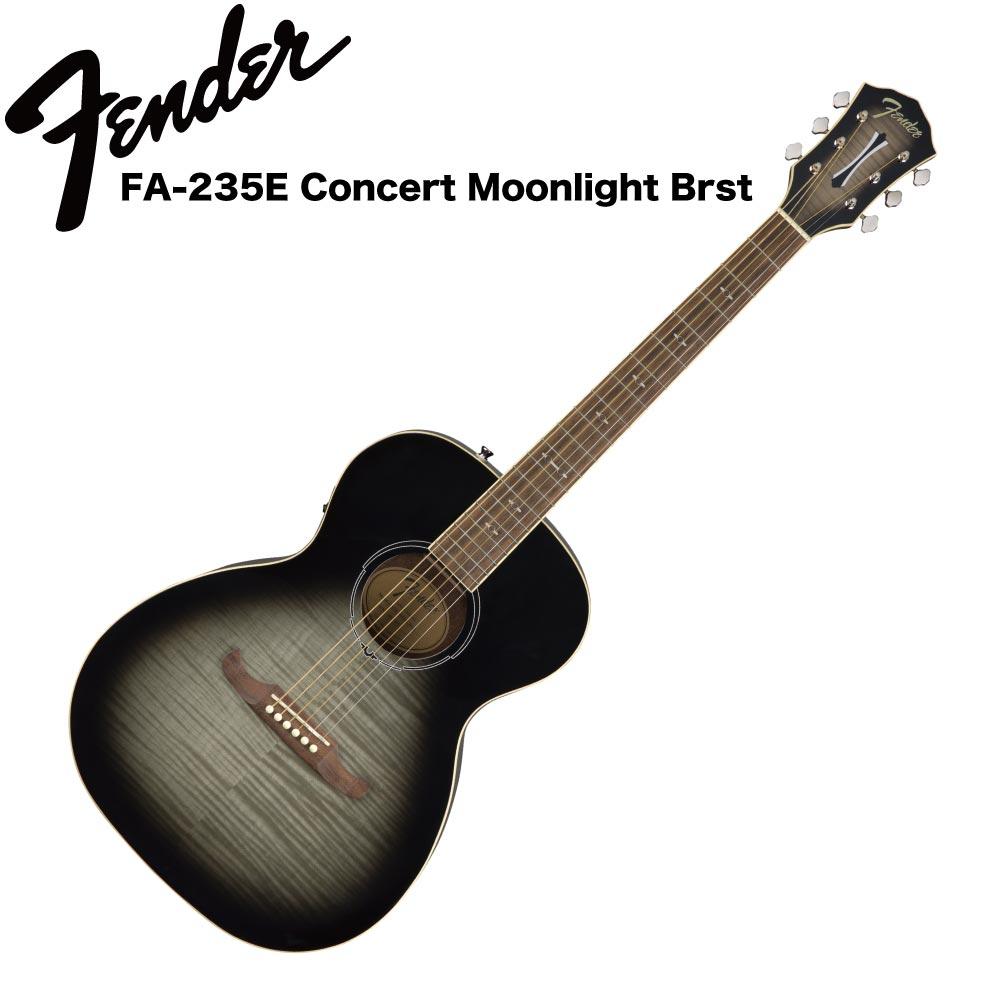 Fender FA-235E Concert Moonlight Burst RW エレクトリックアコースティックギター