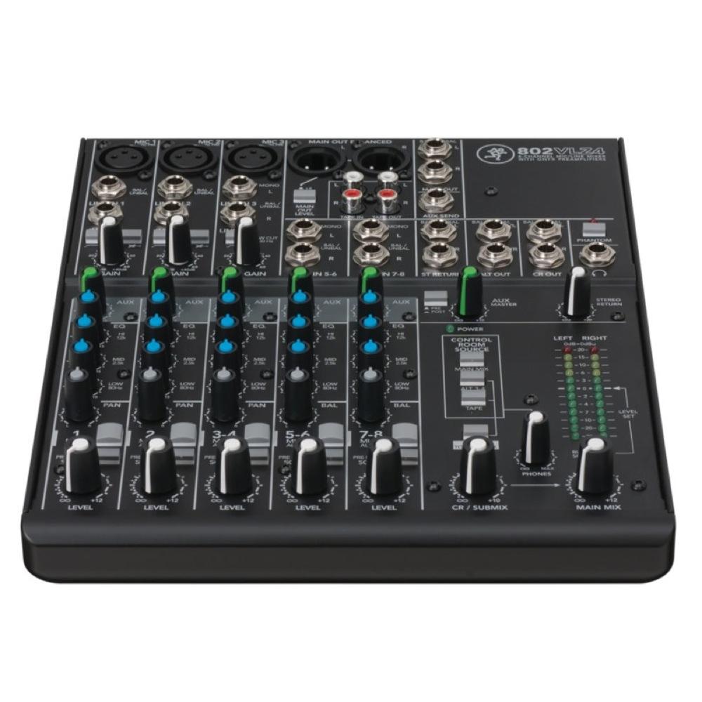 MACKIE 802VLZ4 8チャンネル 超コンパクト ミキサー
