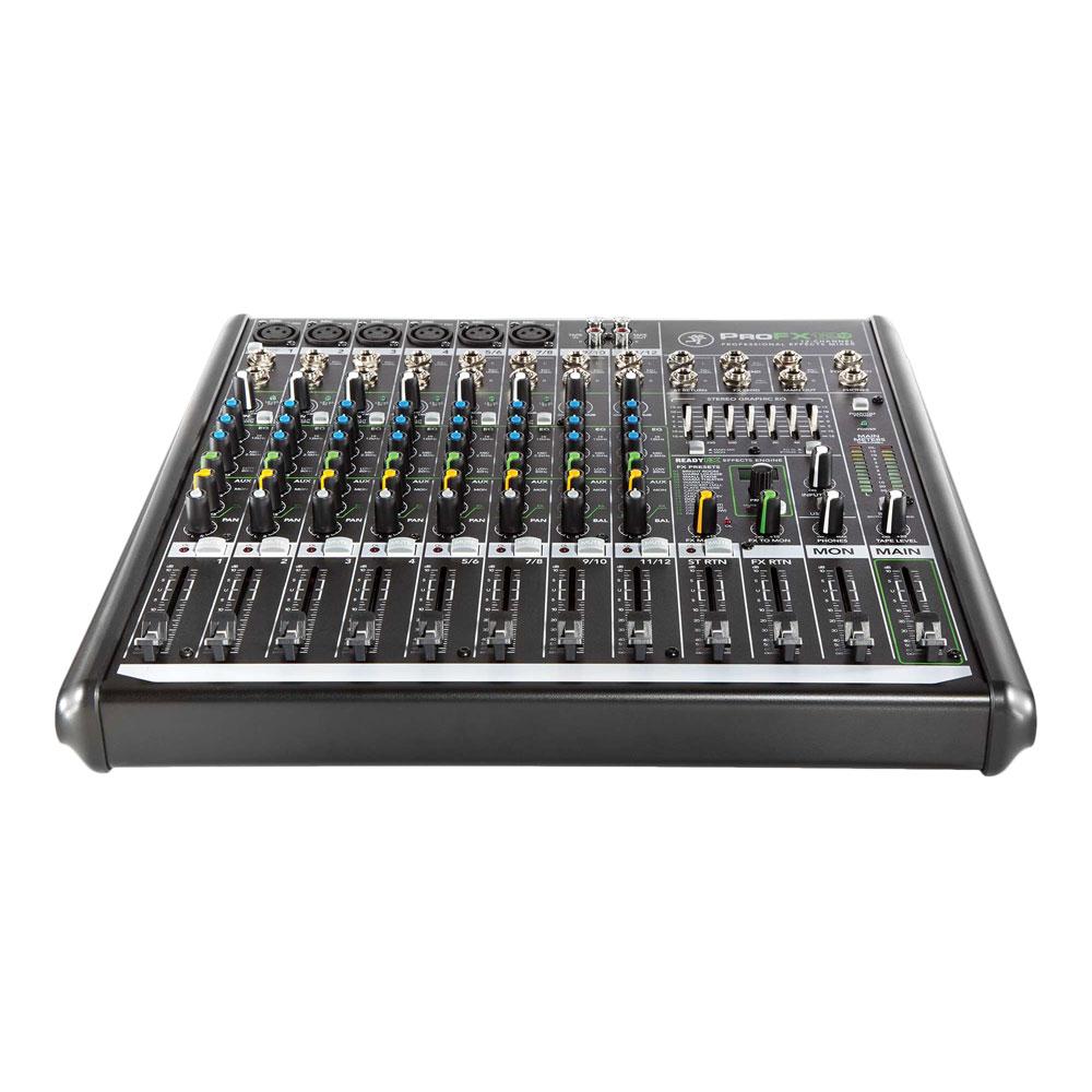 MACKIE ProFX12v2 12チャンネル エフェクター内臓ミキサー USBインターフェイス機能付き