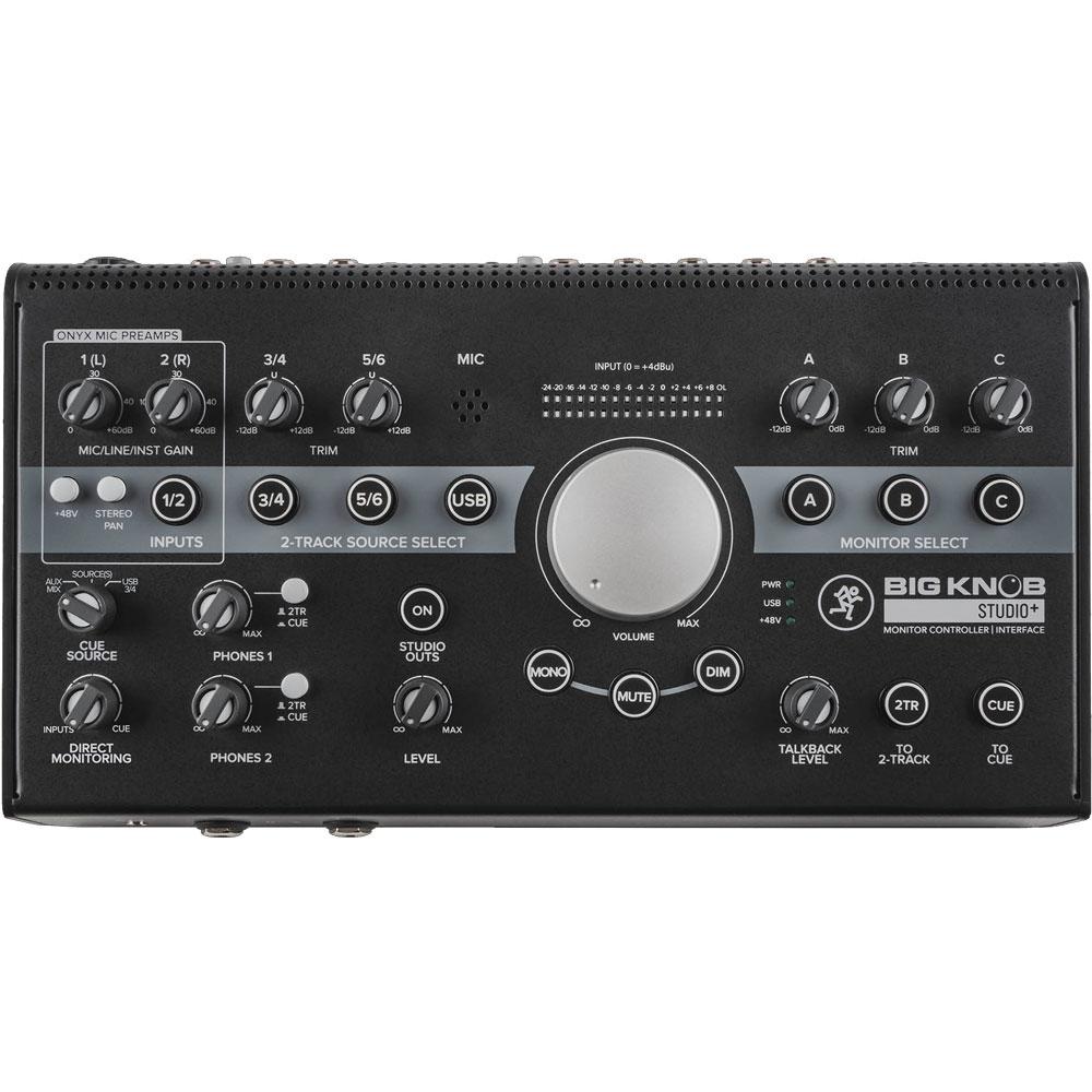 MACKIE Big Knob Studio Plus モニターコントローラー USBインターフェイス機能搭載