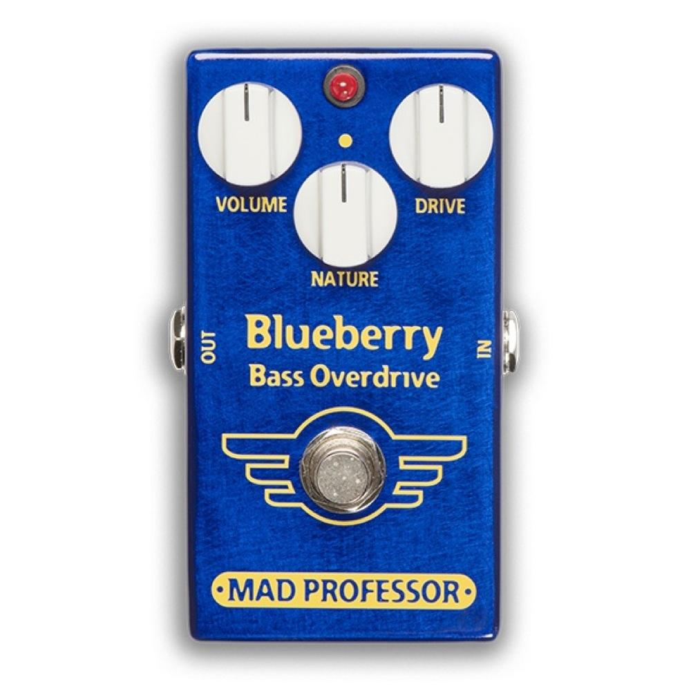 Mad Professor Blueberry Bass Overdrive FAC ベースオーバードライブ