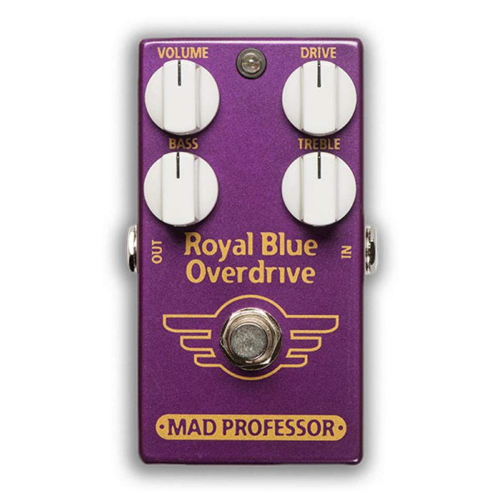 Mad Professor Royal Blue Overdrive FAC オーバードライブ ギターエフェクター
