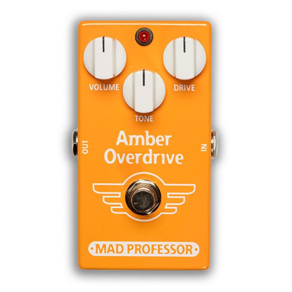 Mad Professor Amber Overdrive FAC オーバードライブ ギターエフェクター