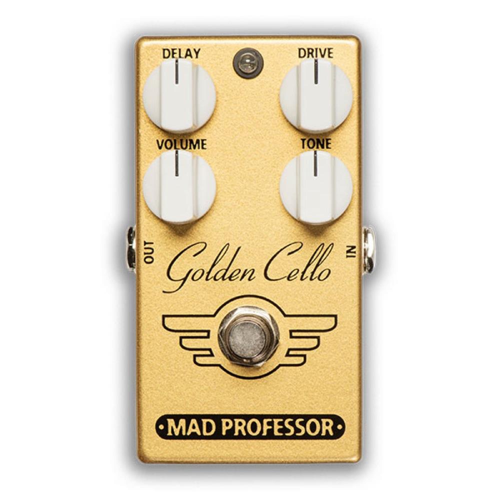 Mad Professor Golden Cello FAC オーバードライブ/ディレイ ギターエフェクター